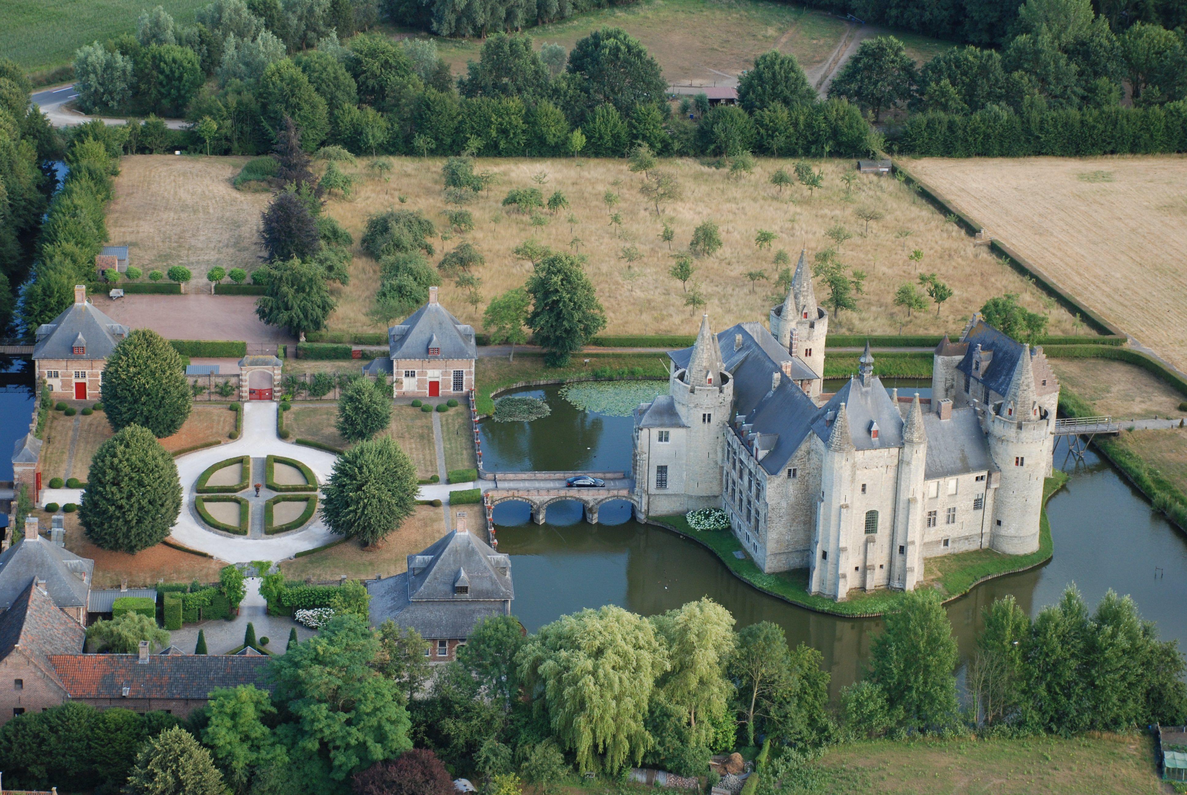 Ballonvaart kasteel van Laarne